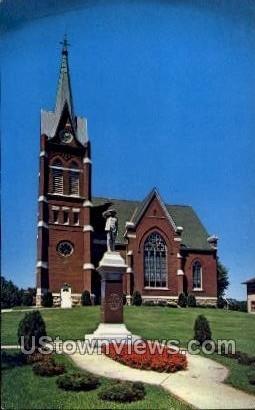 United Church of Christ - New Glarus, Wisconsin WI Postcard