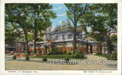 Stein's, The World's Unique Shop - Oshkosh, Wisconsin WI Postcard