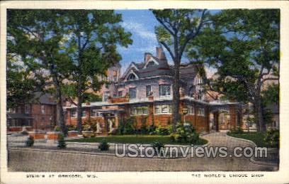 Stein's At Oshkosh - Wisconsin WI Postcard