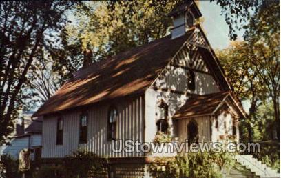 First Church Of Christ Science - Oconto, Wisconsin WI Postcard