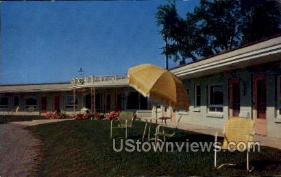 Travelers Motel - Oshkosh, Wisconsin WI Postcard