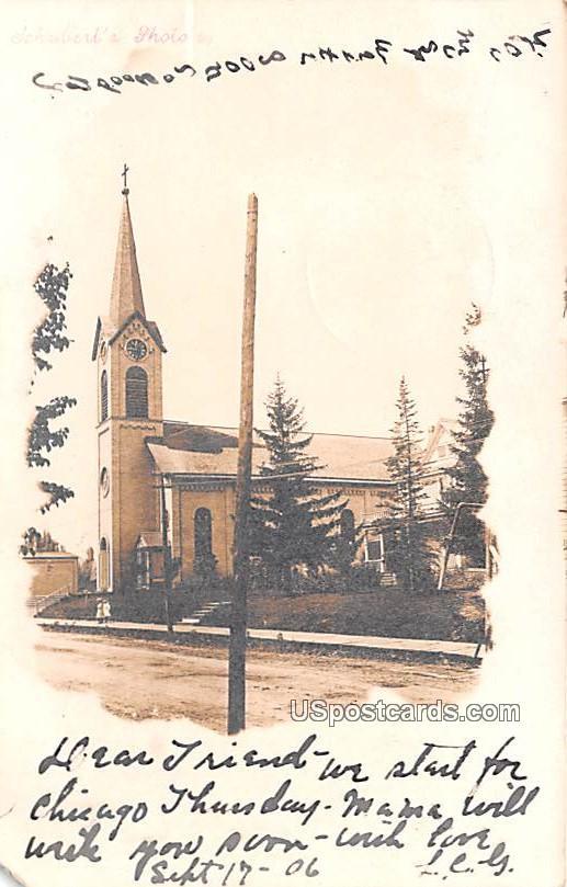 Church - Oshkosh, Wisconsin WI Postcard