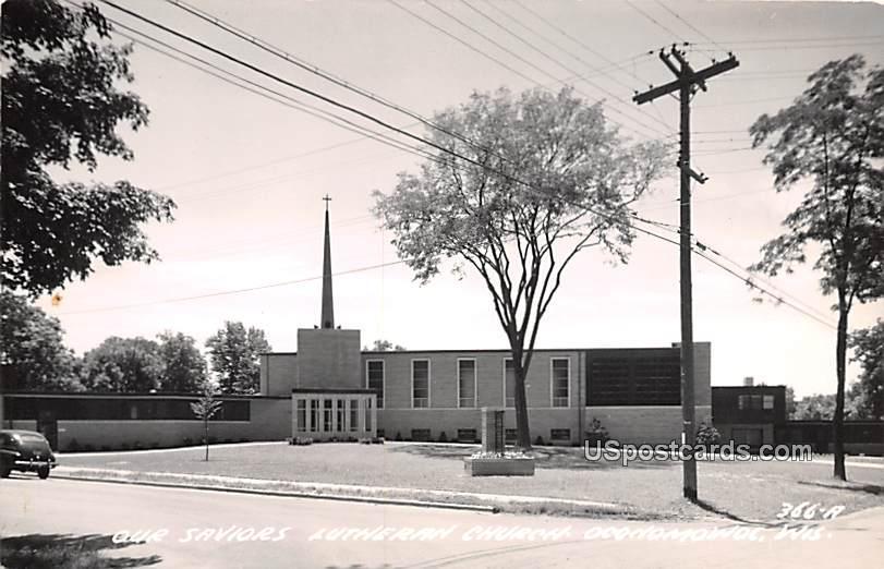 Our Savior Lutheran Church - Oconomowoc, Wisconsin WI Postcard