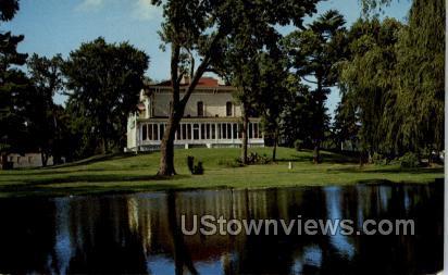 The Villa Louis - Prairie Du Chien, Wisconsin WI Postcard