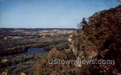 Signal Point - Prairie Du Chien, Wisconsin WI Postcard