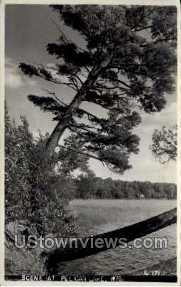 Pelican Lake  - Wisconsin WI Postcard