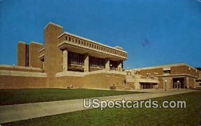 Vilas Communications Hall - Madison, Wisconsin WI Postcard