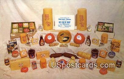 Wisconsin Cheese Mart - Auburndale Postcard
