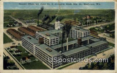 Aluminum Goods Company - Manitowoc, Wisconsin WI Postcard