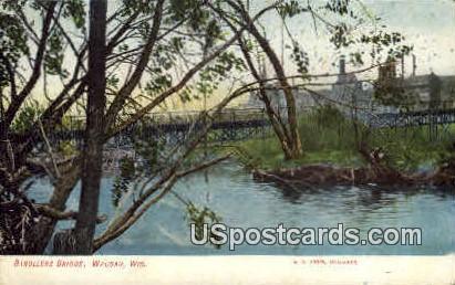 Strollers Bridge - Wausau, Wisconsin WI Postcard