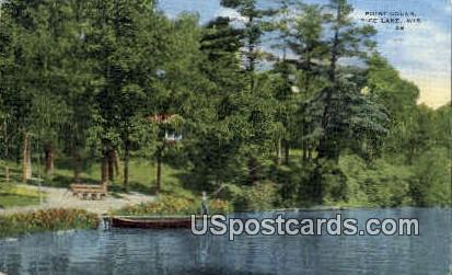 Point Colan - Rice Lake, Wisconsin WI Postcard