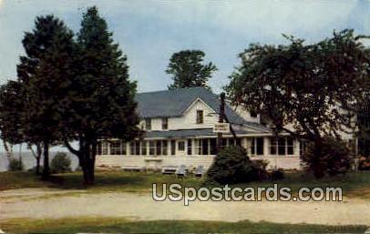 William Engleson's Sunset Resort - Door County, Wisconsin WI Postcard