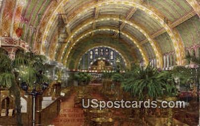 Schlitz Palm Garden - MIlwaukee, Wisconsin WI Postcard