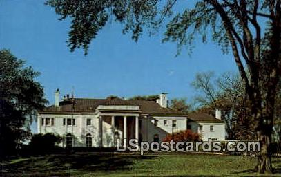 wisconsin Executive Residence - Madison Postcard