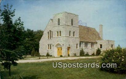 Trinity Lutheran Church - Door County, Wisconsin WI Postcard