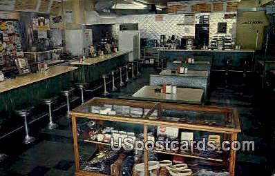 Ed's Caf» - Schofield, Wisconsin WI Postcard