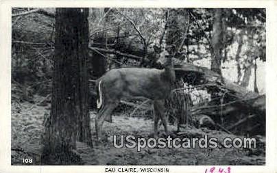 Eau Claire  - Wisconsin WI Postcard