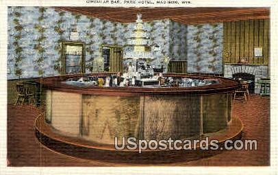 Park Hotel - Madison, Wisconsin WI Postcard