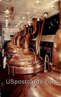 Miller High Life Brewhouse - Misc, Wisconsin WI Postcard