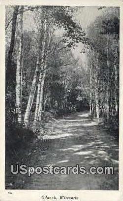 Odanah - Wisconsin WI Postcard
