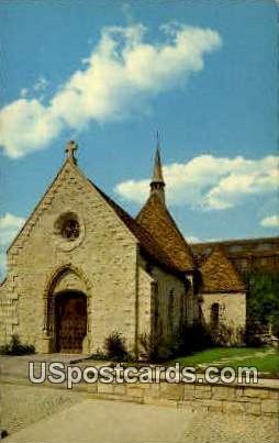 Joan of Arc Chapel - MIlwaukee, Wisconsin WI Postcard