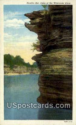 Hawk's Bill - Wisconsin Dells Postcards, Wisconsin WI Postcard