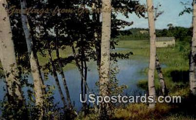 Misc - Grantsburg, Wisconsin WI Postcard