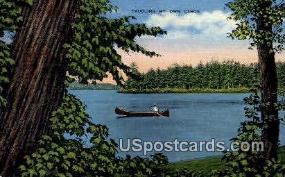 Meinke's Original Hillside Resort - Fox Lake, Wisconsin WI Postcard