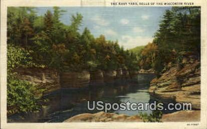 Navy Yard - Wisconsin Dells Postcards, Wisconsin WI Postcard