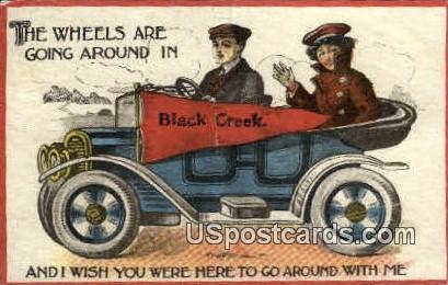 Black Creek, WI Postcard      ;      Black Creek, Wisconsin