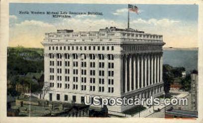 Mutual Life Insurance Building - MIlwaukee, Wisconsin WI Postcard