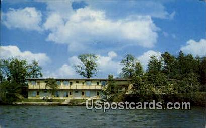 Currier Motel - Rice Lake, Wisconsin WI Postcard