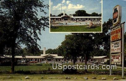 Sleepy Hollow Motel - MIlwaukee, Wisconsin WI Postcard