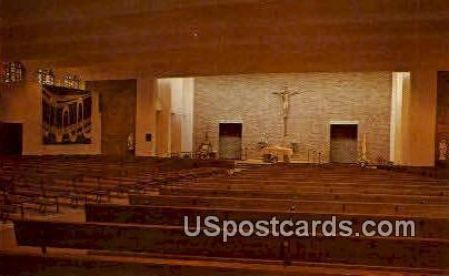 St. Anthony Catholic Church - Niagara, Wisconsin WI Postcard