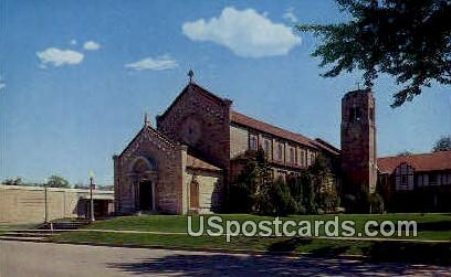 Most Precious Blood Church - New London, Wisconsin WI Postcard