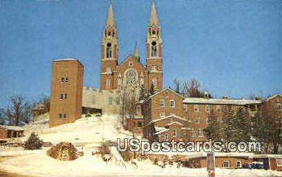 Shrine of Mary - Holy Hill, Wisconsin WI Postcard