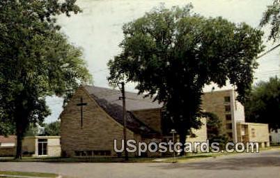 First Lutheran Church - New Richmond, Wisconsin WI Postcard