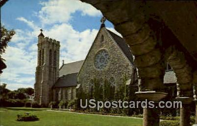 St. Paul's Cathedral - Fond du Lac, Wisconsin WI Postcard