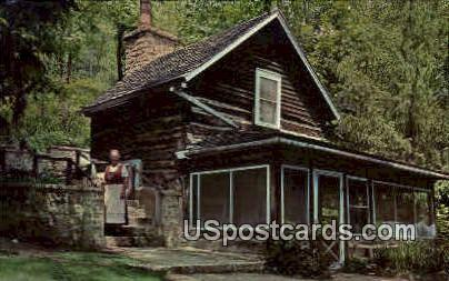 Homesteader's Cabin - Blue Mounds, Wisconsin WI Postcard