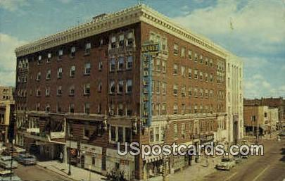 Hotel Eau Claire - Wisconsin WI Postcard