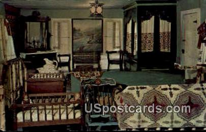 Bedroom - Blue Mounds, Wisconsin WI Postcard