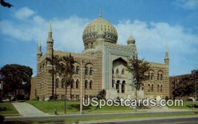 Tripoli Temple - MIlwaukee, Wisconsin WI Postcard