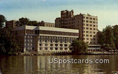 The Edgewater - Madison, Wisconsin WI Postcard
