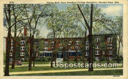 State Teachers College - Stevens Point, Wisconsin WI Postcard