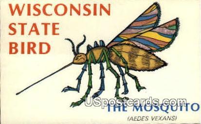 Mosquito - Tomahawk, Wisconsin WI Postcard