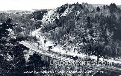 Upper Narrows - Rock Springs, Wisconsin WI Postcard