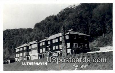 Lutherhaven, WI     ;     Lutherhaven, Wisconsin Postcard
