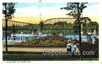 Levee Park - La Crosse, Wisconsin WI Postcard