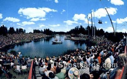 Lumberjack World Championships - Hayward, Wisconsin WI Postcard