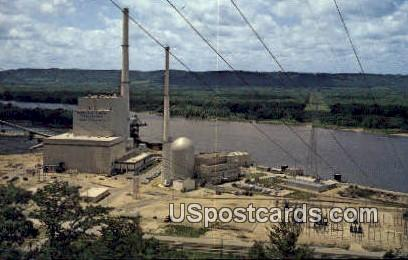 Dairyland Power Generating Site - Genoa, Wisconsin WI Postcard